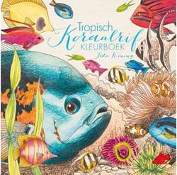 Kleurboek volwassenen tropisch koraalrif