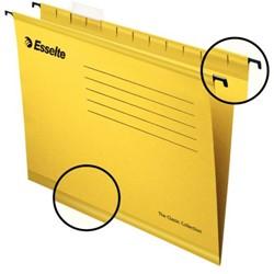 Hangmap Esselte Classic A4 V-bodem geel