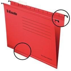 Hangmap Esselte Classic folio V-bodem rood