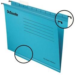 Hangmap Esselte Classic folio V-bodem blauw