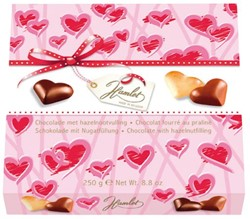 Doos chocolade hart Hamlet 250gram