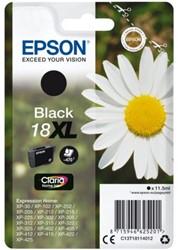 Inkcartridge Epson 18XL T1811 zwart HC