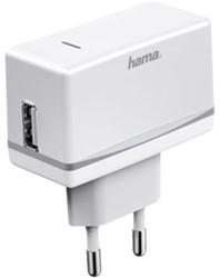 Oplader Hama USB 1000mA wit
