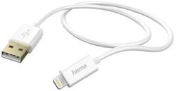 Hama kabel USB / Sync Lightning 150cm wit