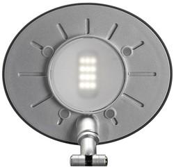 Bureaulamp Maul Space ledlamp met voet zilvergrijs