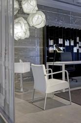 Bureau NPO Fyra instelbaar 160x80cm wit frame wit blad
