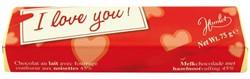 Reep Chocolade Hamlet I love you