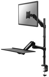 """PC arm Newstar D500 10-27"""" werkplek zwart"""