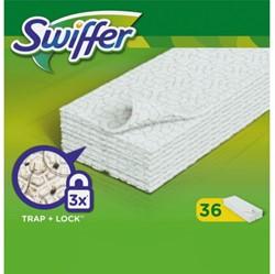 Swiffer vloeren navulling met 36 droge doekjes