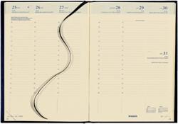 Agenda 2018 Bretime 16 maanden 7 dag/ 2 pagina zwart