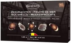 Doos chocolade zeevruchten Hamlet 125gram
