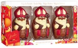 Chocolade Hamlet set van 3 Sinterklaas figuren