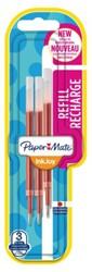 Gelschrijvervulling Papermate Inkjoy rood