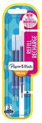 Gelschrijvervulling Papermate Inkjoy blauw