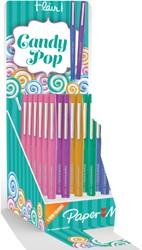 Display Papermate Flair Candy Pop 36 stuks assorti