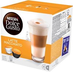 Koffie Dolce Gusto Late Machiato 16 cups voor 8 kopjes