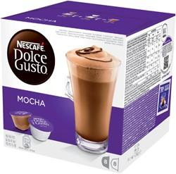 Koffie Dolce Gusto Late Mocha 16 cups voor 8 kopjes