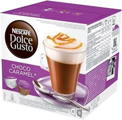 Koffie Dolce Gusto Choco Caramel 16 cups voor 8 kopjes