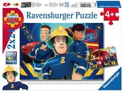 Puzzel Ravensburger brandweerman Sam 2x 24 stuks