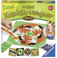 Mandala designer Ravensburger zand paarden