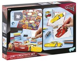 Creatief set Totum sticker en window paint Cars 3
