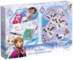 Creatief set Totum strijkkraal en blaaspen Frozen