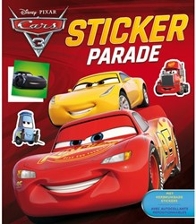 stickerboek Deltas stickerparade Cars 3