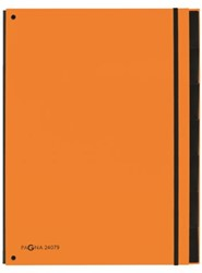 Sorteermap Pagna Trend 7 tabs A4 oranje
