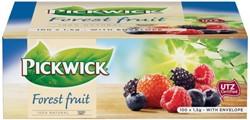 Thee Pickwick bosvruchten 100 zakjes van 1.5gram met envelop