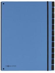 Sorteermap Pagna Trend 12 tabs A4 PP lichtblauw