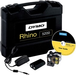 Labelprinter Dymo Rhino pro 5200 ABC in koffer