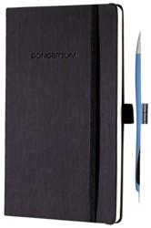 Notitieboek Conceptum A4+ lijn CO116 zwart + balpen Rave