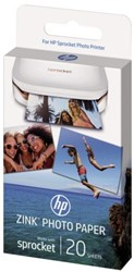 Fotopapier HP ZINK voor Sprocket 5x7.6cm zelfklevend 290gr
