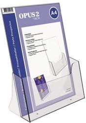 Folderhouder OPUS 2  A4 acryl