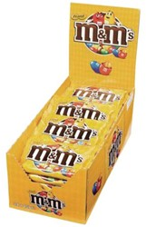 M&M's pinda single 45gr 24 zakjes
