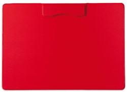 Klembord magnetisch A4 dwars rood