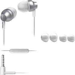 Headset Philips in ear SE3855S zilver/wit