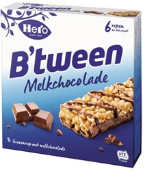 B'tween granenreep melkchocolade 12x25gr