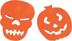 Slinger halloween papier 3meter assorti