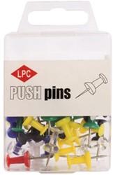 Push pins LPC 40stuks assorti