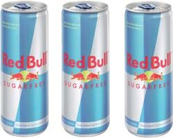 Energy drank red bull suikervrij blikje 0.25l