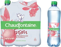 Water Chaudfontaine Fusion Pompelmoes petfles 0.50l