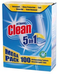 Vaatwastabletten Clean All-in-One 100 stuks