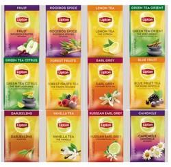 Thee Lipton Variety 12 smaken x15 zakjes = 180 stuks