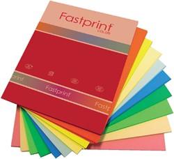 Kopieerpapier Fastprint A4 120gr 10kleuren x10vel 100vel