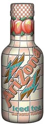 Frisdrank Arizona iced tea perzik petfles 0,5l