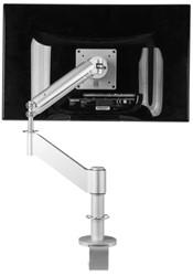 "monitorarm R-Go-Tools Caparo 3 tot 32"" met klem zilvergrijs"