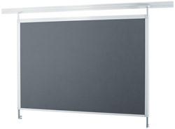 Textielbord Legaline Dynamic 100x120cm grijs