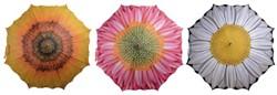 Paraplu bloemen 3 dessins assorti
