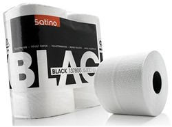 Toiletpapier Satino Black 2-laags 400vel 4rollen